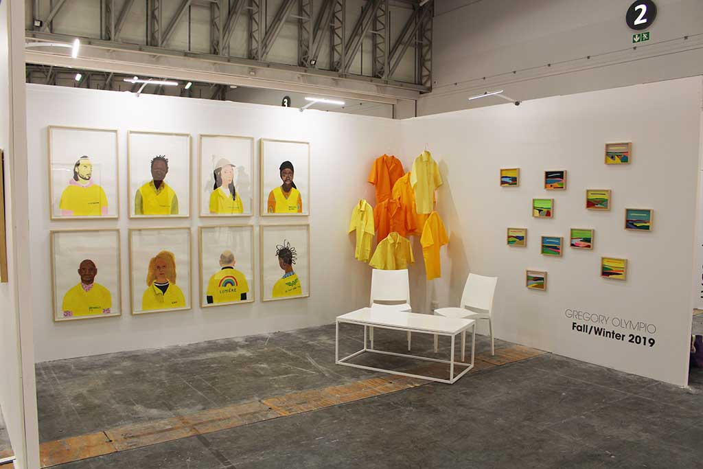 GREGORY OLMYPIO, Fall/Winter 2019, Cape Town Art Fair Installation